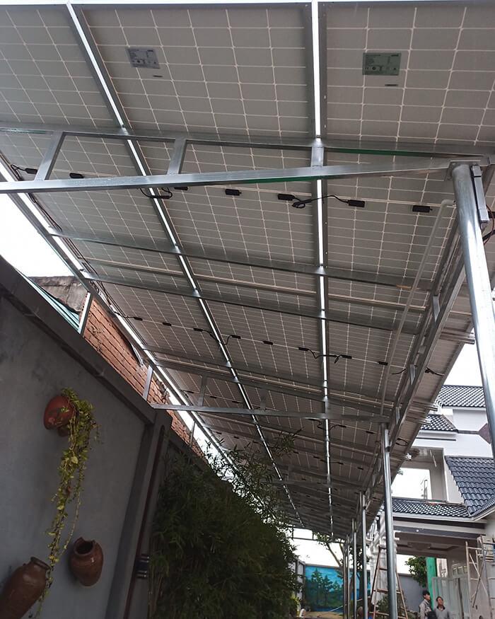 Lắp đặt hoàn tất hệ thống năng lượng mặt trời hòa lưới 11kWp tại BR-VT 5