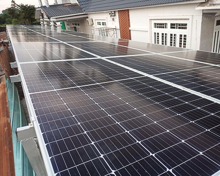 Lắp đặt hoàn tất hệ thống năng lượng mặt trời hòa lưới 11kWp tại BR-VT 6