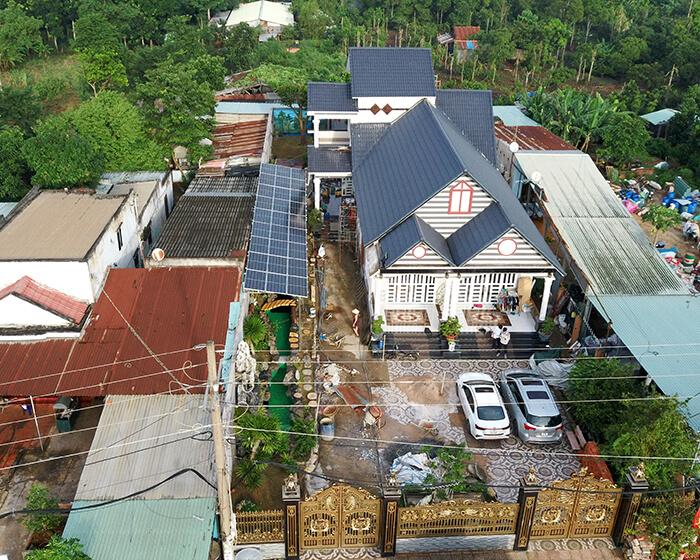 Lắp đặt hoàn tất hệ thống năng lượng mặt trời hòa lưới 11kWp tại BR-VT 8