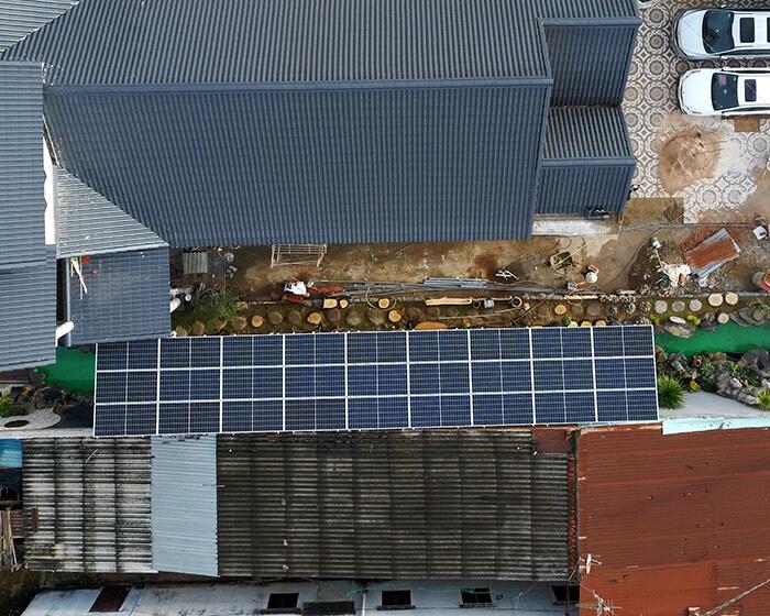 Lắp đặt hoàn tất hệ thống năng lượng mặt trời hòa lưới 11kWp tại BR-VT 9