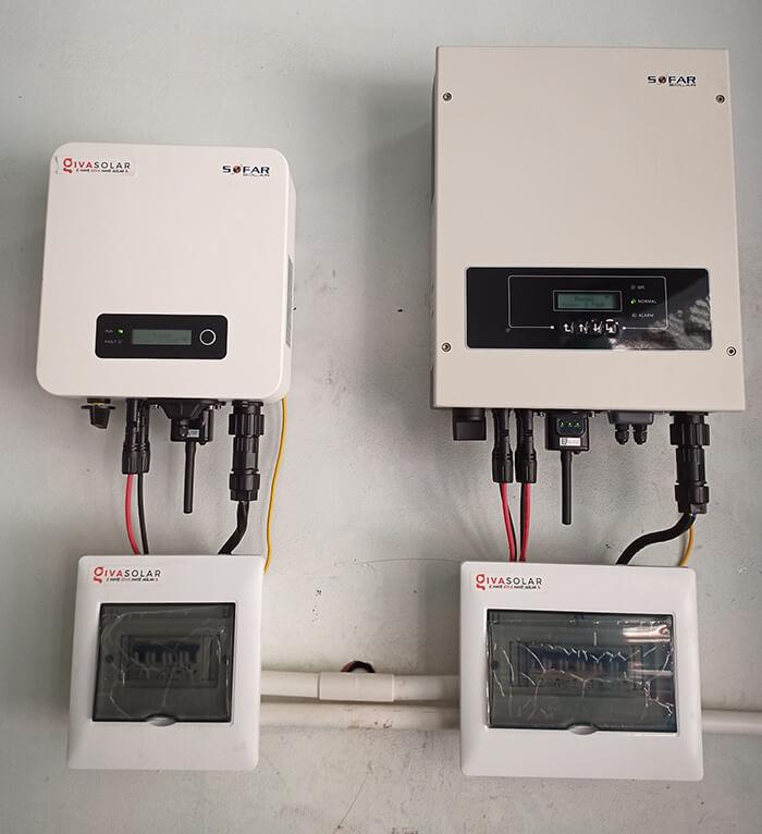 Hoàn thành hệ thống năng lượng mặt trời hòa lưới 8kWp tại Quận 10, HCM 5