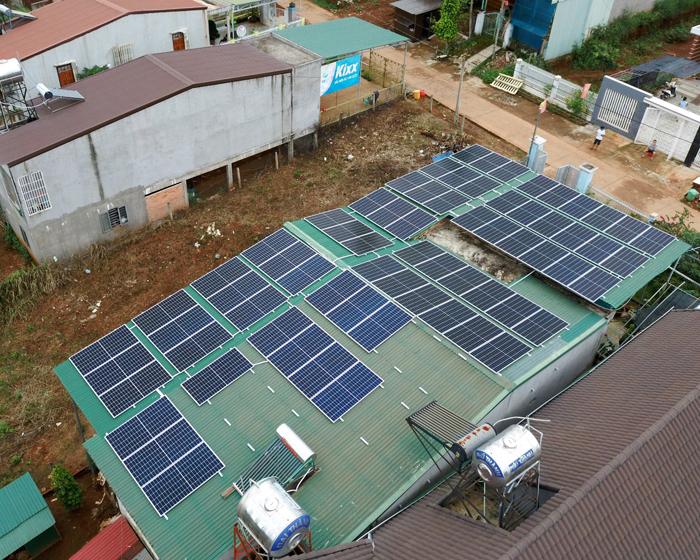 Lắp điện mặt trời áp mái: Hệ thống công suất 30kW tại Đắk Nông 10