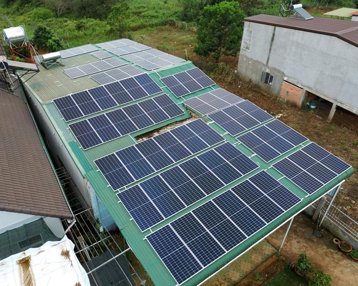 Lắp điện mặt trời áp mái: Hệ thống công suất 30kW tại Đắk Nông 12