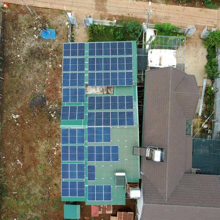 Lắp điện mặt trời áp mái: Hệ thống công suất 30kW tại Đắk Nông 4
