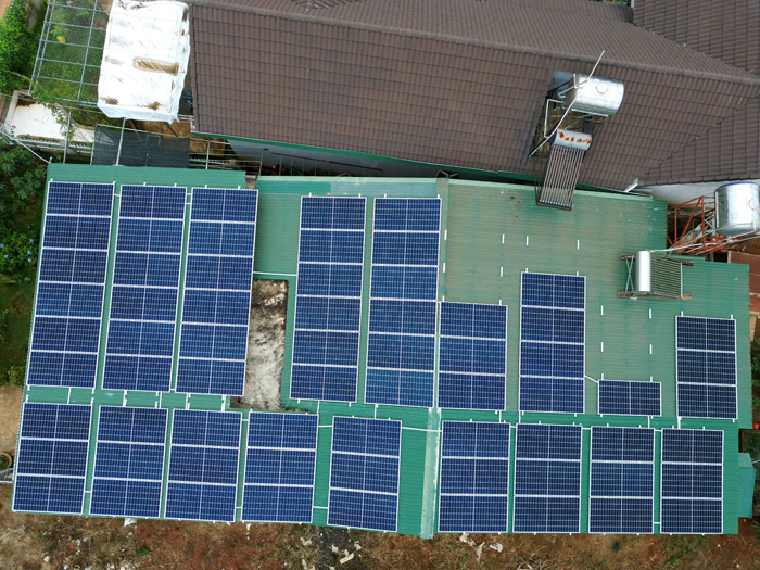 Lắp điện mặt trời áp mái: Hệ thống công suất 30kW tại Đắk Nông 6
