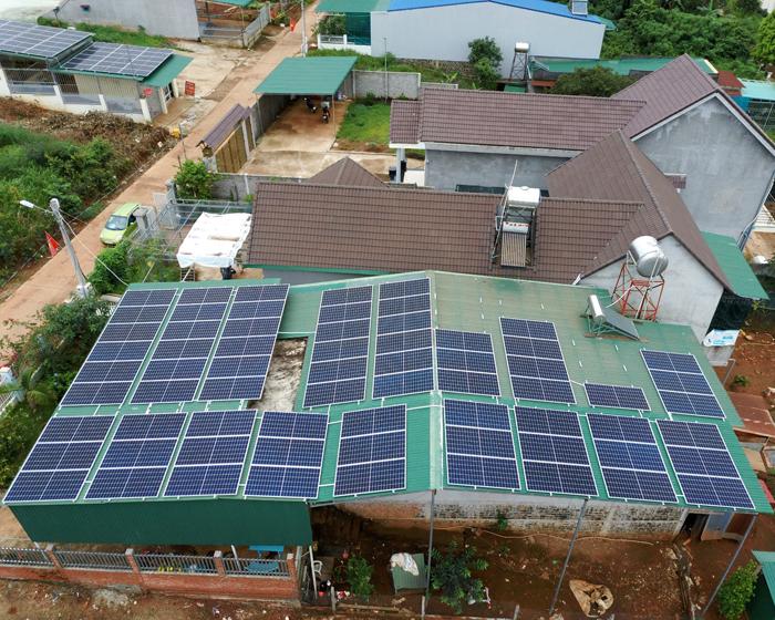 Lắp điện mặt trời áp mái: Hệ thống công suất 30kW tại Đắk Nông 7