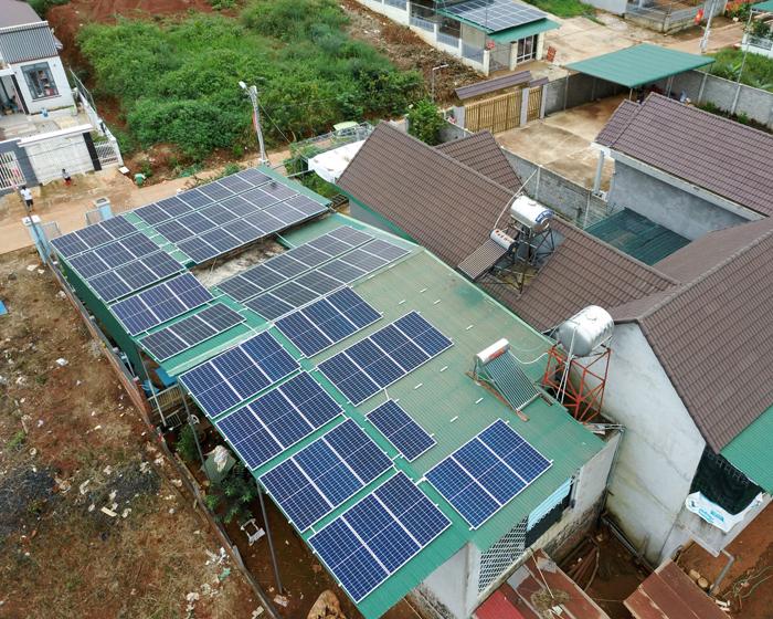 Lắp điện mặt trời áp mái: Hệ thống công suất 30kW tại Đắk Nông 8