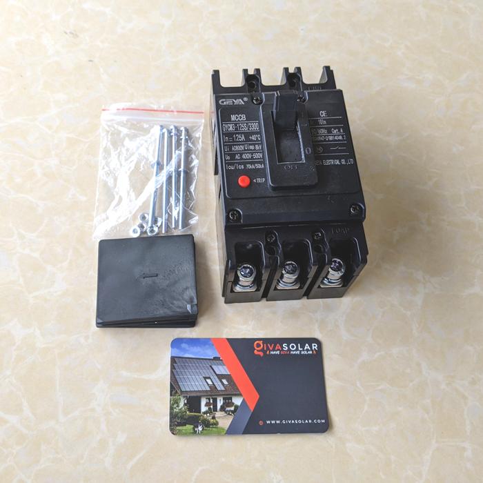 MCCB GYCM3-125SP/3300 100A/125A AC400V-500V thương hiệu GEYA