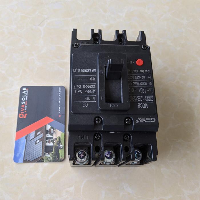 MCCB GYCM3-125SP/3300 100A/125A AC400V-500V thương hiệu GEYA 12