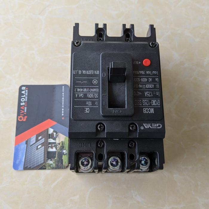 MCCB GYCM3-125SP/3300 100A/125A AC400V-500V thương hiệu GEYA 13