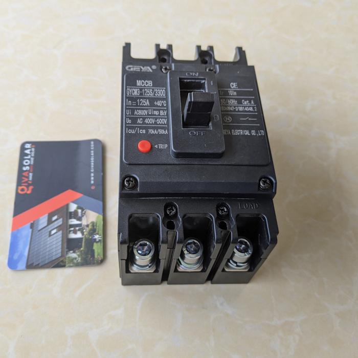 MCCB GYCM3-125SP/3300 100A/125A AC400V-500V thương hiệu GEYA 17