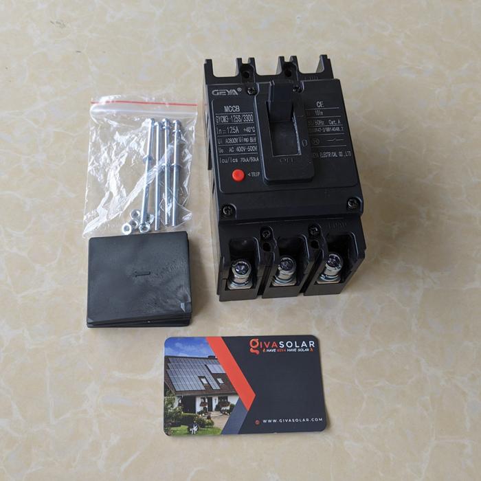 MCCB GYCM3-125SP/3300 100A/125A AC400V-500V thương hiệu GEYA 19