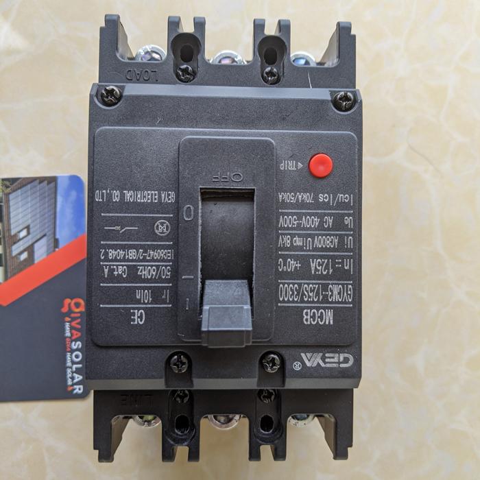 MCCB GYCM3-125SP/3300 100A/125A AC400V-500V thương hiệu GEYA 3