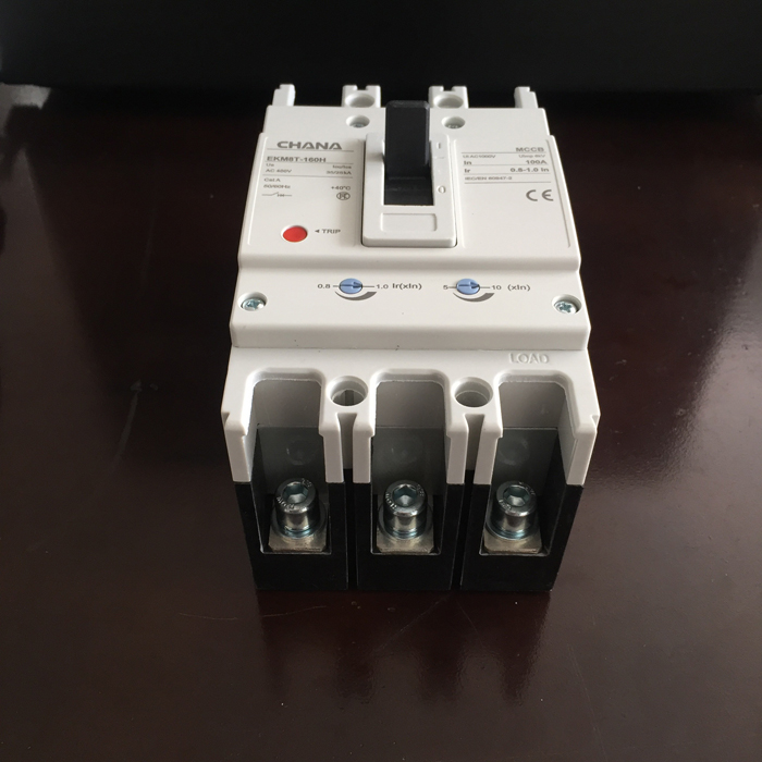 MCCB sử dụng trong các hệ thống điện mặt trời CHANA 3P-80-100A-6KA 1