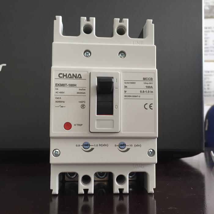 MCCB sử dụng trong các hệ thống điện mặt trời CHANA 3P-80-100A-6KA 11