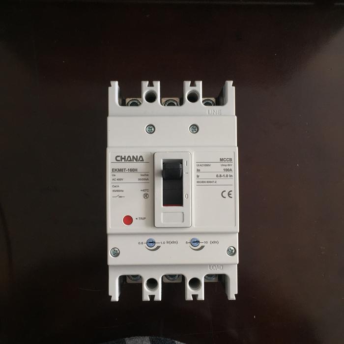 MCCB sử dụng trong các hệ thống điện mặt trời CHANA 3P-80-100A-6KA 13