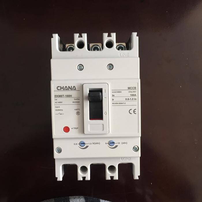 MCCB sử dụng trong các hệ thống điện mặt trời CHANA 3P-80-100A-6KA 14