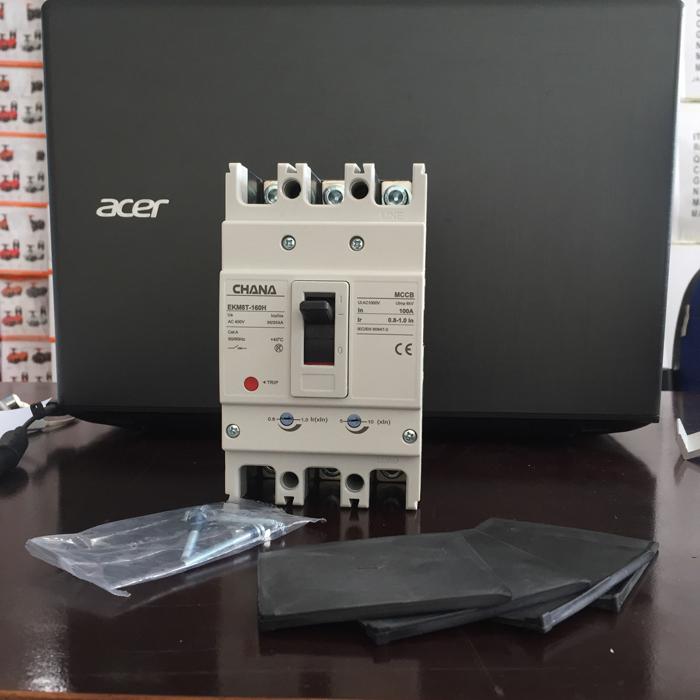 MCCB sử dụng trong các hệ thống điện mặt trời CHANA 3P-80-100A-6KA 18