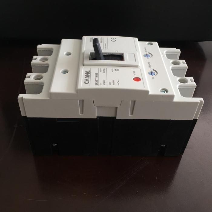 MCCB sử dụng trong các hệ thống điện mặt trời CHANA 3P-80-100A-6KA 4