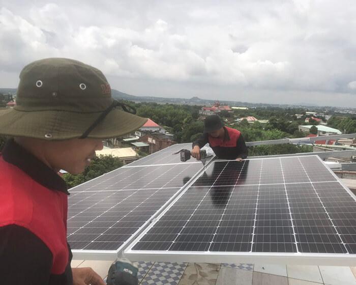 Tăng trưởng điện mặt trời áp mái tại BR-VT và hệ thống 30kWp của anh Thuận 1