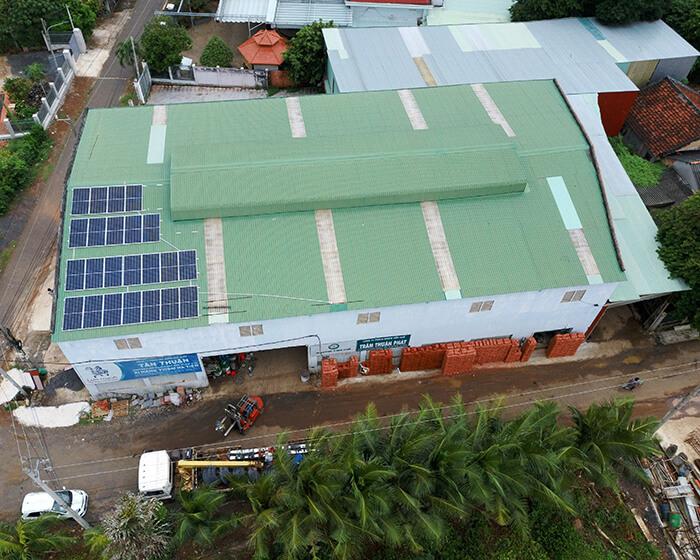 Tăng trưởng điện mặt trời áp mái tại BR-VT và hệ thống 30kWp của anh Thuận 10