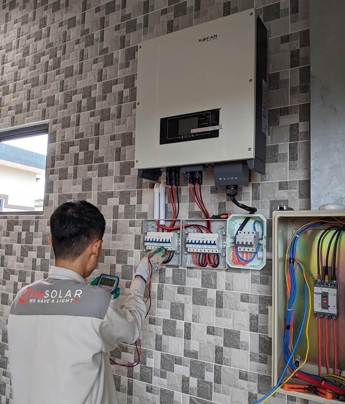 Tăng trưởng điện mặt trời áp mái tại BR-VT và hệ thống 30kWp của anh Thuận 12