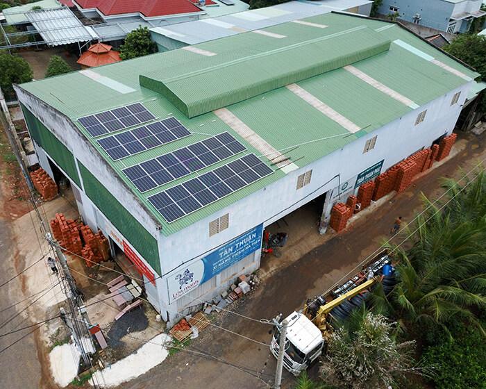 Tăng trưởng điện mặt trời áp mái tại BR-VT và hệ thống 30kWp của anh Thuận 9