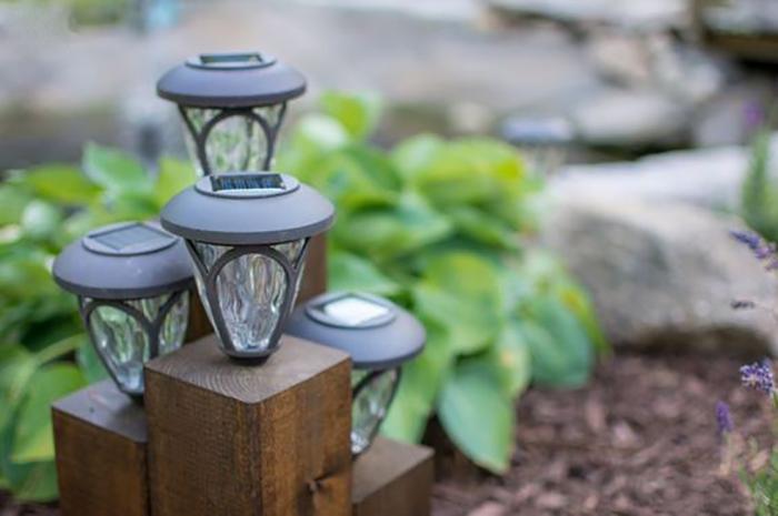 Những ý tưởng trang trí nguồn sáng cực đẹp với đèn năng lượng mặt trời 1