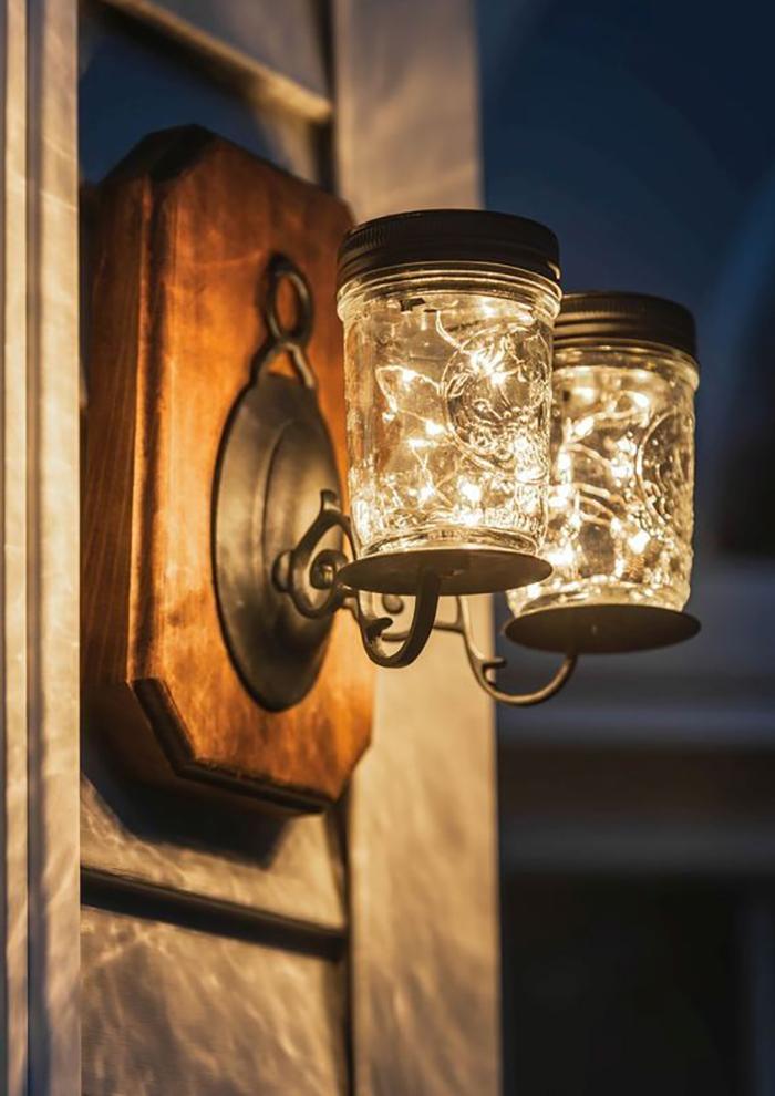 Những ý tưởng trang trí nguồn sáng cực đẹp với đèn năng lượng mặt trời 5
