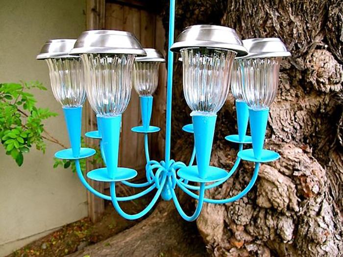 Những ý tưởng trang trí nguồn sáng cực đẹp với đèn năng lượng mặt trời 6
