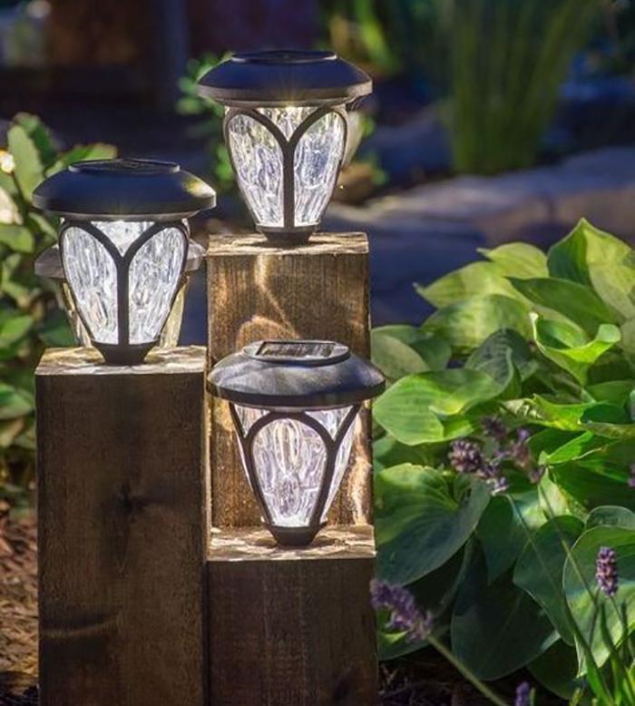 Những ý tưởng trang trí nguồn sáng cực đẹp với đèn năng lượng mặt trời 8