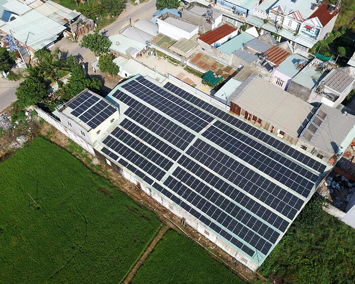 Nhận thấy lợi ích rõ ràng, chủ nhà quyết định tiếp tục lắp điện mặt trời 0.17 MW 1