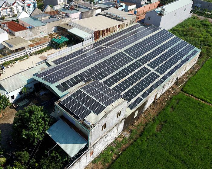 Nhận thấy lợi ích rõ ràng, chủ nhà quyết định tiếp tục lắp điện mặt trời 0.17 MW 2