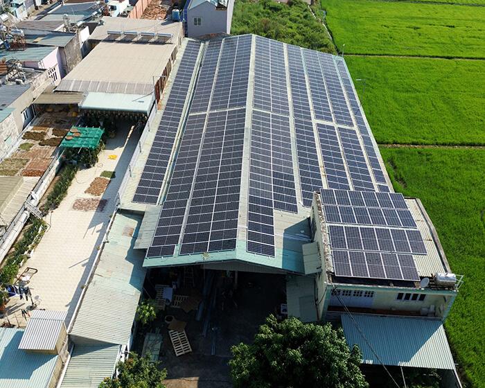 Nhận thấy lợi ích rõ ràng, chủ nhà quyết định tiếp tục lắp điện mặt trời 0.17 MW 3