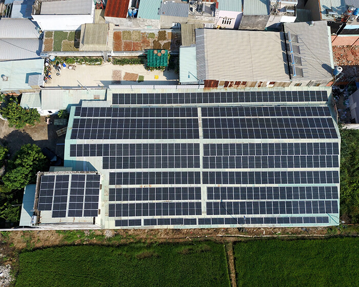 Nhận thấy lợi ích rõ ràng, chủ nhà quyết định tiếp tục lắp điện mặt trời 0.17 MW 4