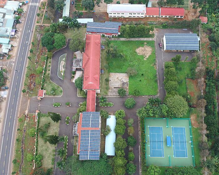 Dự án điện mặt trời Tây Nguyên: Hệ thống 0.269 MWp tại Chư Sê tỉnh Gia Lai 1