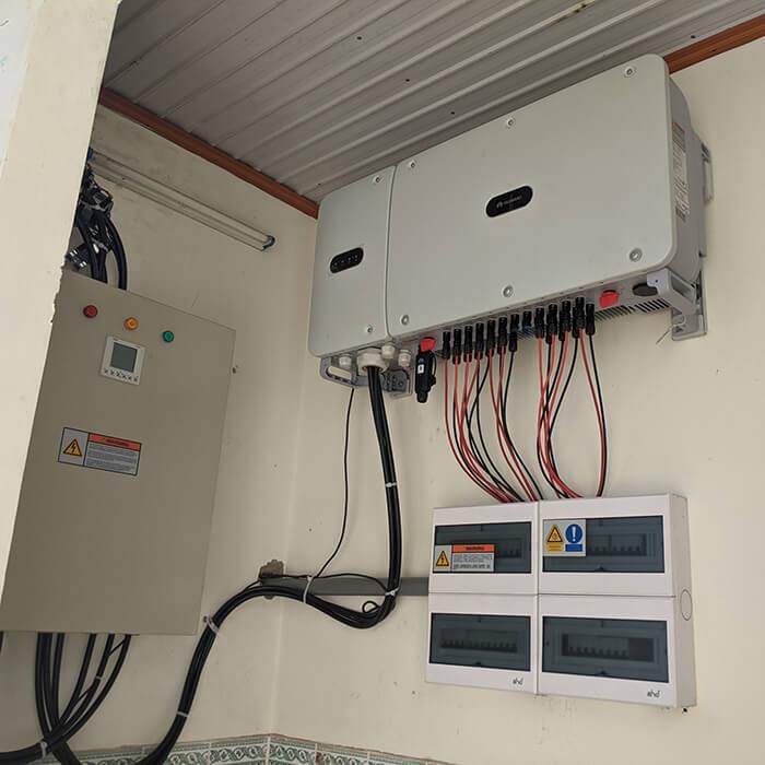 Dự án điện mặt trời Tây Nguyên: Hệ thống 0.269 MWp tại Chư Sê tỉnh Gia Lai 11