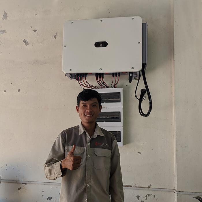 Dự án điện mặt trời Tây Nguyên: Hệ thống 0.269 MWp tại Chư Sê tỉnh Gia Lai 12