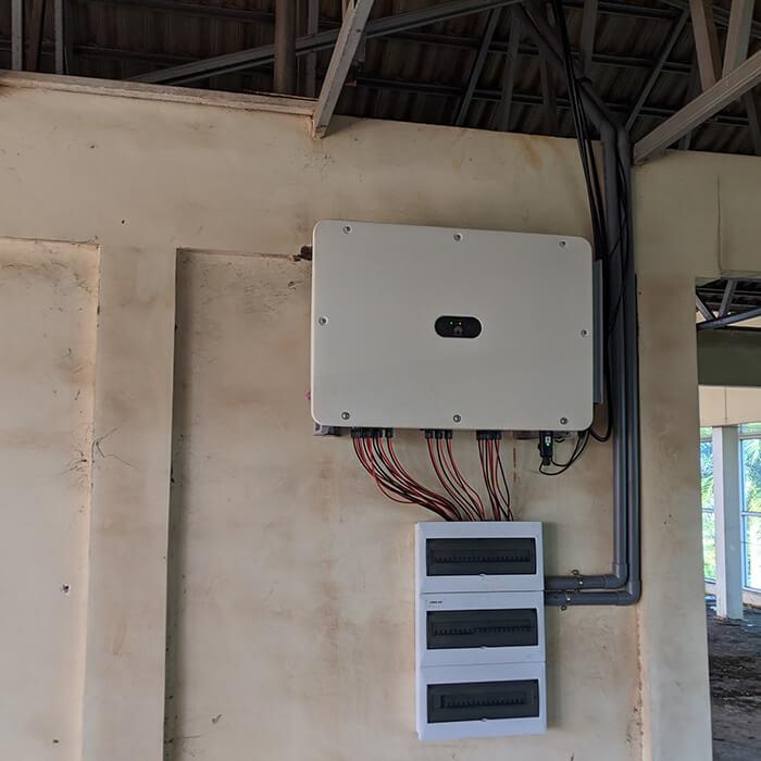 Dự án điện mặt trời Tây Nguyên: Hệ thống 0.269 MWp tại Chư Sê tỉnh Gia Lai 13