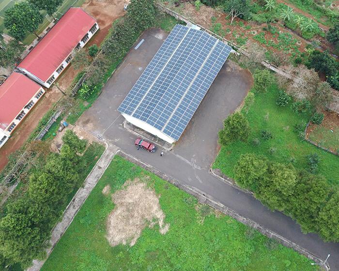 Dự án điện mặt trời Tây Nguyên: Hệ thống 0.269 MWp tại Chư Sê tỉnh Gia Lai 2