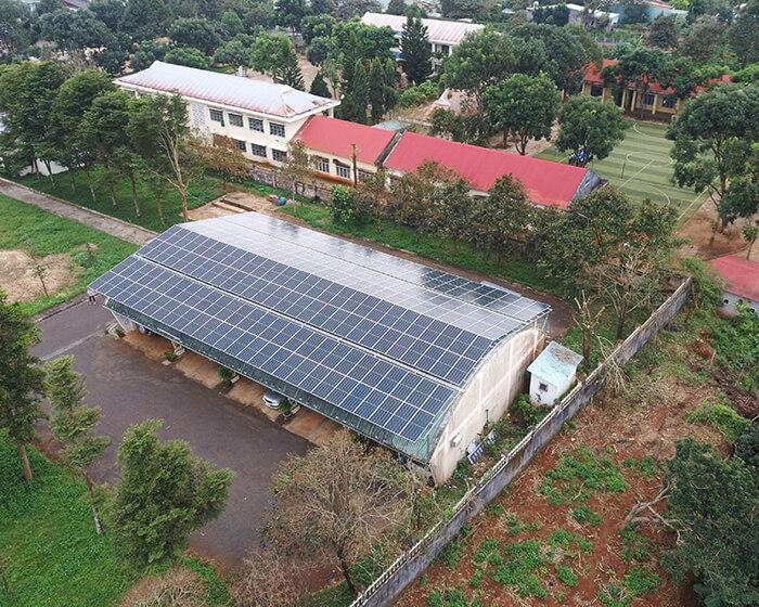 Dự án điện mặt trời Tây Nguyên: Hệ thống 0.269 MWp tại Chư Sê tỉnh Gia Lai 3