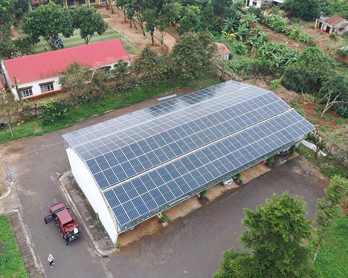 Dự án điện mặt trời Tây Nguyên: Hệ thống 0.269 MWp tại Chư Sê tỉnh Gia Lai 4