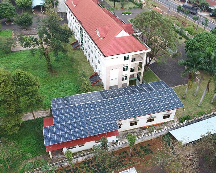 Dự án điện mặt trời Tây Nguyên: Hệ thống 0.269 MWp tại Chư Sê tỉnh Gia Lai 5