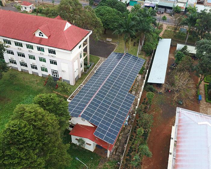 Dự án điện mặt trời Tây Nguyên: Hệ thống 0.269 MWp tại Chư Sê tỉnh Gia Lai 6