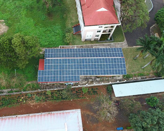 Dự án điện mặt trời Tây Nguyên: Hệ thống 0.269 MWp tại Chư Sê tỉnh Gia Lai 7