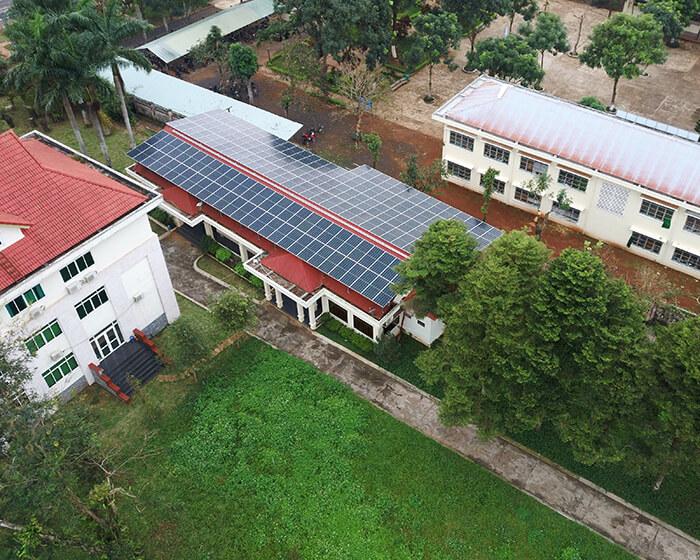 Dự án điện mặt trời Tây Nguyên: Hệ thống 0.269 MWp tại Chư Sê tỉnh Gia Lai 8