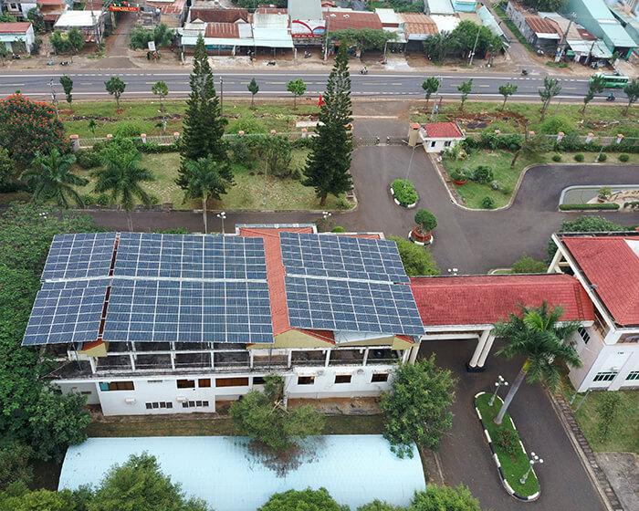 Dự án điện mặt trời Tây Nguyên: Hệ thống 0.269 MWp tại Chư Sê tỉnh Gia Lai 9