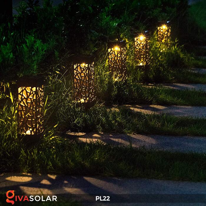 Đèn trang trí Noel sử dụng năng lượng mặt trời mới nhất 2020 4