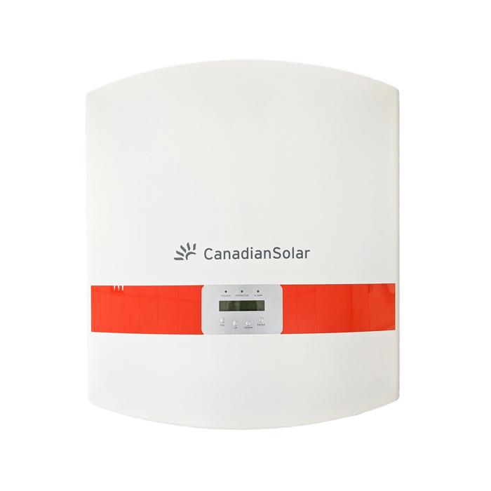 Inverter hòa lưới cho hệ thống điện mặt trời Canadian 50 kW