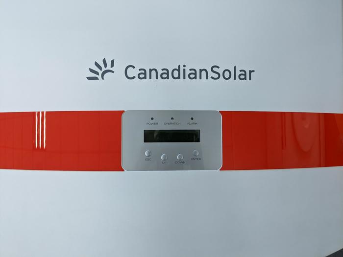 Inverter hòa lưới cho hệ thống điện mặt trời Canadian 50 kW 11